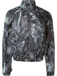 куртка-бомбер с принтом пальм Versus