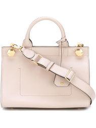 сумка с золотистыми деталями  Anya Hindmarch