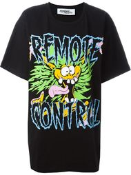 футболка с принтом 'Remote Control' Jeremy Scott
