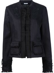 embroidered jacket Tomas Maier