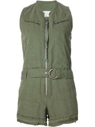 belted jumpsuit Greg Lauren