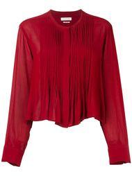 рубашка с плиссировкой  Isabel Marant Étoile
