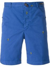шорты с вышивкой Pt01