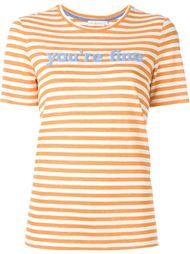 полосатая футболка Tory Burch