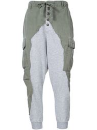 drop-crotch lounge pants Greg Lauren