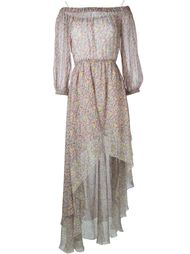 платье с цветочным принтом   Philosophy Di Lorenzo Serafini
