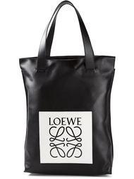 сумка-шоппер с логотипом Loewe