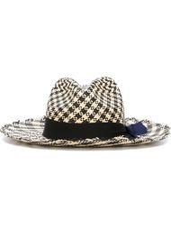 шляпа в клетку  Sensi Studio