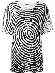 футболка свободного кроя с принтом  Jeremy Scott