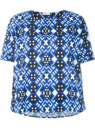 футболка с геометрическим принтом P.A.R.O.S.H.