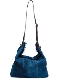 denim shoulder bag Greg Lauren