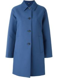single breasted coat Jil Sander Navy