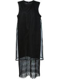 embroidered hem dress Comme Des Garçons Noir Kei Ninomiya
