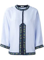 embroidered buttoned blouse  Vilshenko