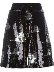 sequin elastic waist shorts Joyrich