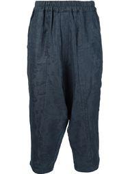 укороченные брюки с цветочным жаккардовым узором By Walid