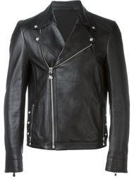 байкерская куртка на молнии Versus