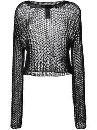 hand knit jumper Haider Ackermann