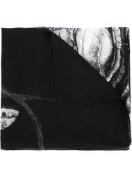 шарф с принтом животных Marsèll