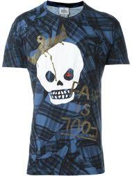 футболка с принтом черепа в короне Vivienne Westwood Man