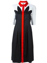 платье-рубашка с панельным дизайном Jil Sander Navy