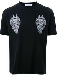 футболка с абстрактным принтом Phenomenon