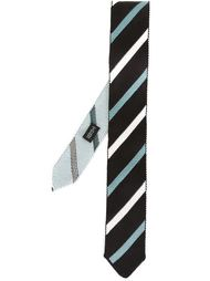 striped knit tie Tonello