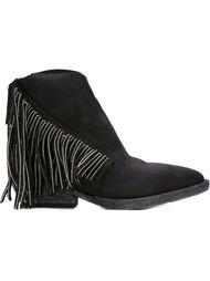 texan fringed boots Cinzia Araia