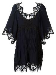 платье с кружевными деталями Chloé