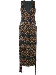 платье 'Delorean' без рукавов со шнуровкой  Ellery