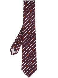 geometric pattern tie Issey Miyake Men