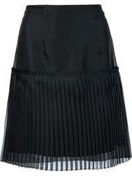 pleated mini skirt Carolina Herrera
