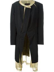 многослойное пальто Comme Des Garçons Vintage