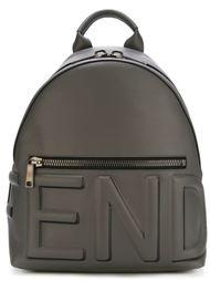 рюкзак с тиснением логотипа Fendi