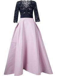 lace top gown Carolina Herrera