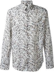 рубашка с гранитным принтом Fendi