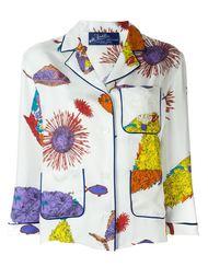 рубашка в пижамном стиле с принтом Emilio Pucci