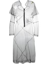 прозрачное тюлевое платье Comme Des Garçons Vintage