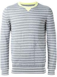 свитер в полоску Sacai