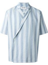полосатая рубашка с застежкой на пуговицу Sunnei