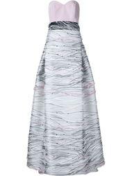 sweetheart neck gown Carolina Herrera