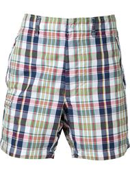 checked deck shorts Engineered Garments