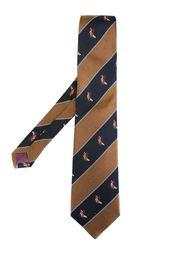 галстук в диагональную полоску Burberry Vintage