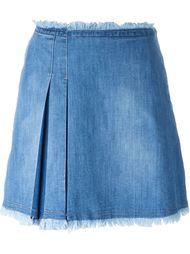короткая джинсовая юбка See By Chloé