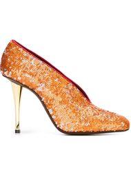 туфли с пайетками Lanvin