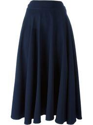 расклешенная юбка с запахом Yohji Yamamoto Vintage