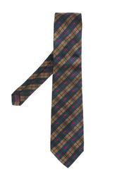 галстук в клетку Burberry Vintage