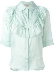 рубашка 'Ella' с жабо Maison Kitsuné