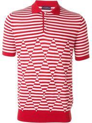 футболка-поло в полоску Ballantyne