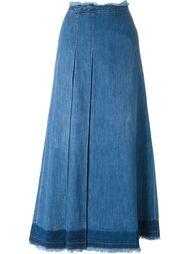 джинсовая юбка макси See By Chloé